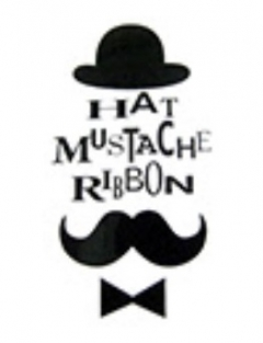 HAT MUSTACHE RIBBON
