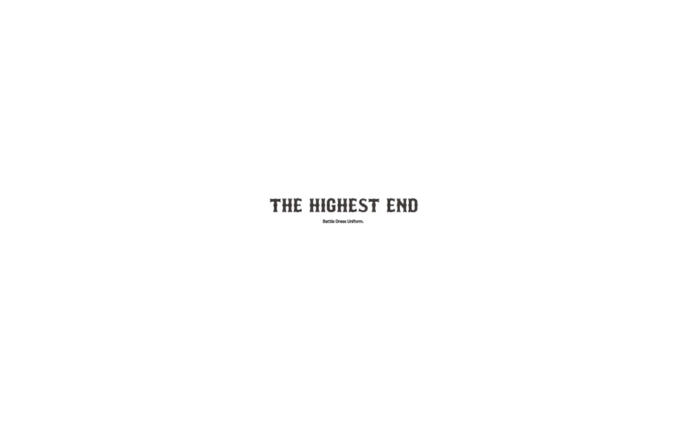 THE HIGHEST END