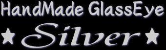 HandMade GlassEye ★Silver★