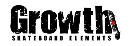 Growth skateboard elements (グロース)