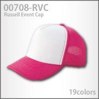 ワンランク上のラッセルメッシュ素材を使用【ラッセルイベントキャップ】(708-RVC)