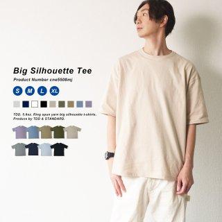 パンツとの相性が抜群のビッグTシャツ ビッグシルエット 無地Tシャツ メンズ TDD. テニスデデニス