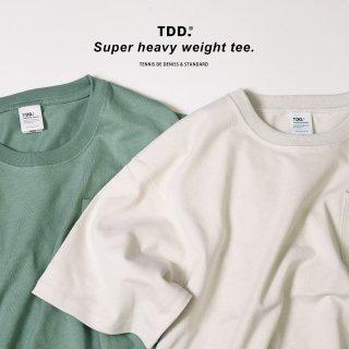 本物の厚手 スーパーヘビーウェイトTシャツ 超厚手で透けにくい白Tシャツ 男性は乳首が浮かないTシャツ