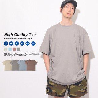 個性的なカラーですが合わせやすいカラーリングで着回ししやすいおすすめの無地Tシャツ