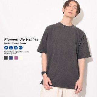 気古されたようなヴィンテージ感のピグメントTシャツ