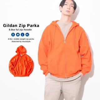ギルダン パーカー アメリカンフィット 海外輸入のGILDANジップパーカー 無地 メンズ ジップ 裏起毛 ジップパーカー