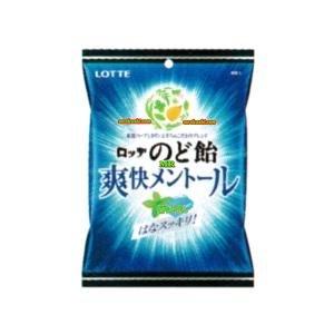 MRロッテ 110G爽快メントールのど飴袋〔175円〕×20個 +税 【1k】