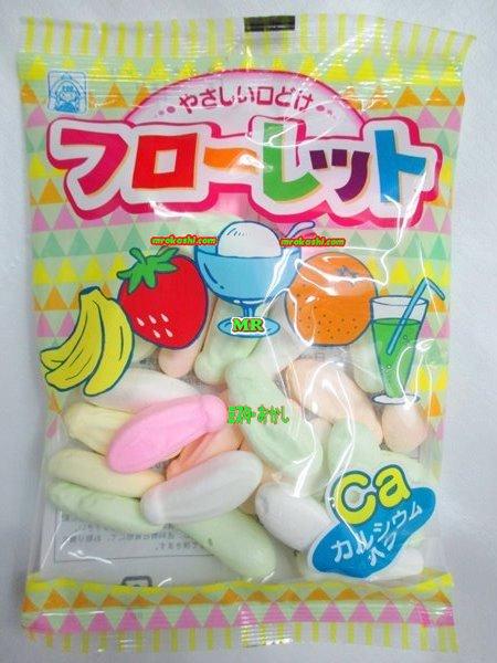 MR竹下製菓 60グラム フローレット〔118円〕×10袋 +税 【1set】