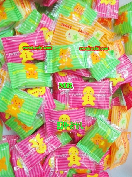 MRカクダイ製菓 2キロ【約700粒】 大粒スイートラムネ【業】×1袋 +税 【fu】