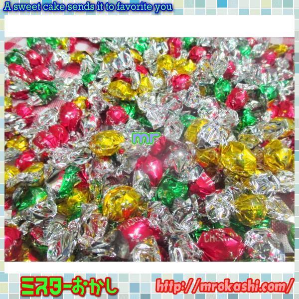 MRチーリン製菓 2キログラム【目安として約1100粒】 カリカリ オールシーズンチョコレート【チョコ】×1袋 +税 【fu】
