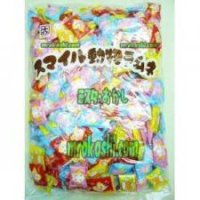 MRカクダイ製菓 スマイル動物ラムネ1キロ(1122円)×1袋 +税