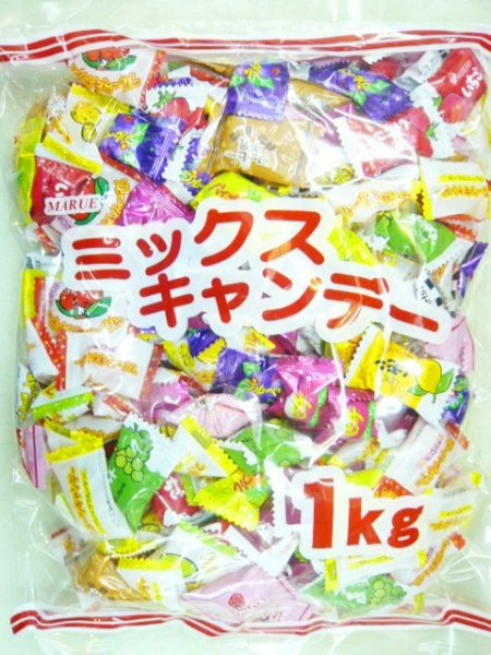 MRマルエ製菓 マルエーミックスキャンデー1キロ×1袋 +税