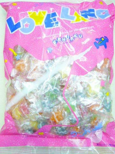 MR扇雀飴本舗 ラブランドトロピカルキャンデー1キロ(1035円)×1袋 +税