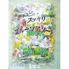 MR春日井製菓 のどにスッキリフルーツアソートキャンディ1kg×1袋 +税