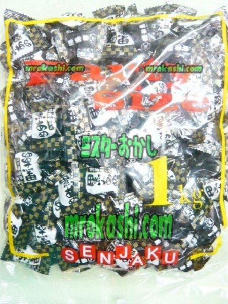 MR扇雀飴本舗 黒あめ1キロ(1001円)×1袋 +税