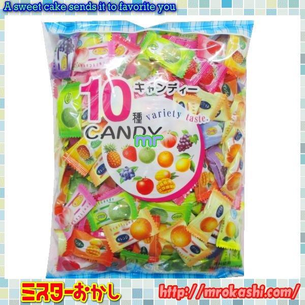 MRニッシンドルチェ フルーツ10アソートキャンデー(555円)×1袋 +税
