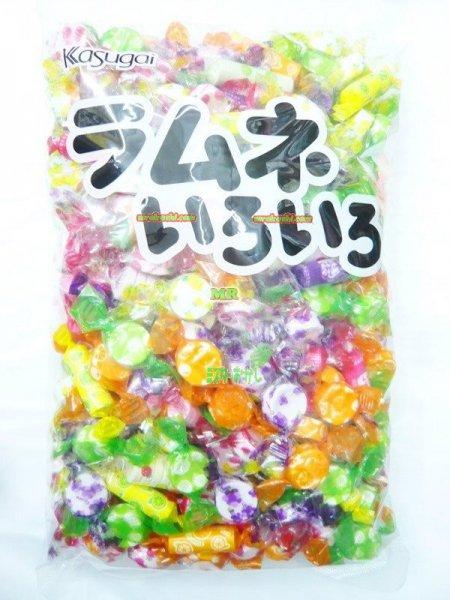 MR春日井製菓 1kgラムネいろいろ〔1079円〕×1袋 +税