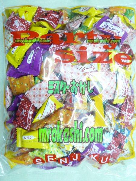MR扇雀飴本舗 扇雀 大袋ミックスキャンディ1kg(773円)×1袋 +税