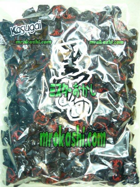 MR春日井製菓 黒あめ1キロ(778円)×1袋 +税
