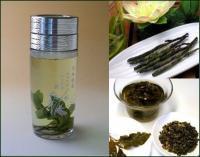 【日本全国送料無料】中国茶用携帯エコ水筒260cc+お勧め中国茶2種類