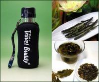 【日本全国送料無料】中国茶用携帯エコ水筒(台湾飄逸杯)370cc+お勧め中国茶2種類