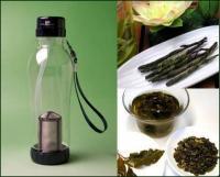 【日本全国送料無料】中国茶用携帯エコ水筒(台湾飄逸杯)580cc+お勧め中国茶2種類