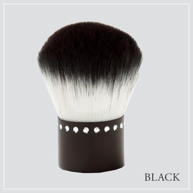 あかしや 化粧筆 カブキブラシ ブラック