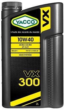 YACCO VX-300 / 10W-40 / 2L