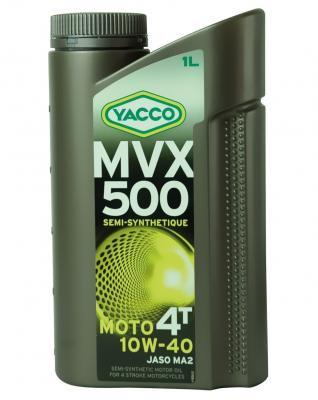 YACCO MVX 500 MOTO 4T / 10W-40 / 1L