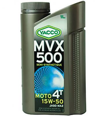 YACCO MVX 500 MOTO 4T / 15W-50 / 1L