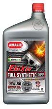AMALIE ELIXIR / 5W-50 / 1クォートボトル