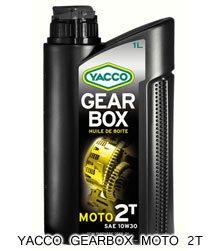 YACCO GEARBOX MOTO 2T / 10W-30 / 1L