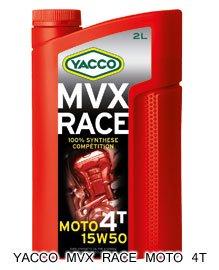 YACCO MVX RACE MOTO 4T   / 15W-50 / 2L