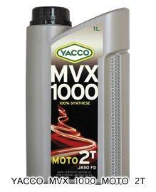 YACCO MVX 1000 MOTO 2T / 20W-20 / 1L