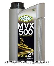 YACCO MVX 500 MOTO 2T / 20W-20 / 1L
