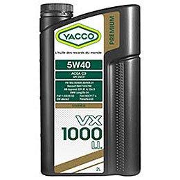 YACCO VX-1000 LL / 5W-40 / 2L