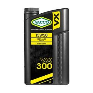 YACCO VX-300 / 15W-50 / 2L
