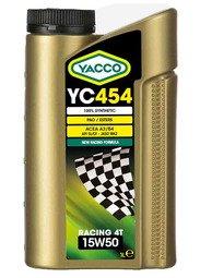 YACCO YC-454 RACING 4T / 15W-50 / 1L