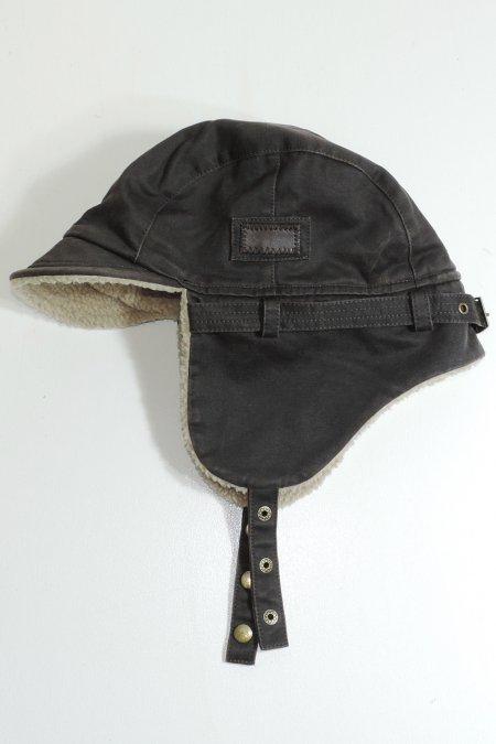WING BOMBER CAP -Brown-