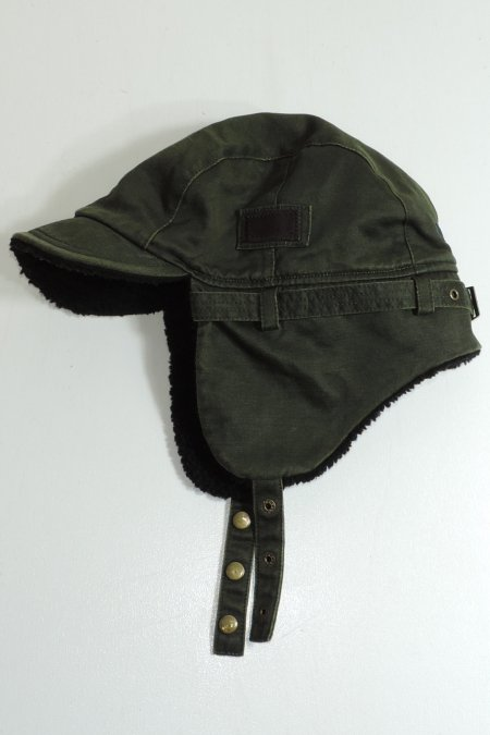 WING BOMBER CAP -Olive-