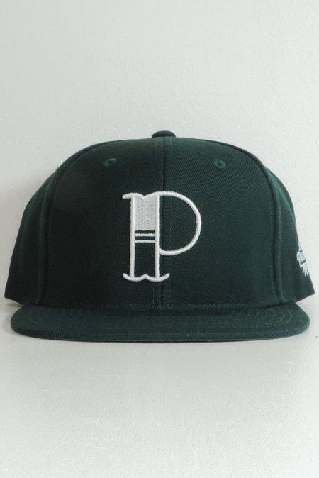 W&B PIZZA 3rd SNAP BACK CAP -Green-