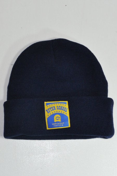 AFTER SCHOOL BEANIE -Navy-