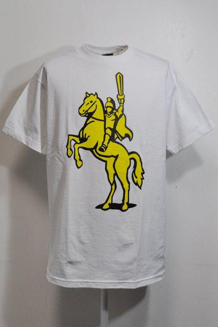 HORSE TEE S/S -White-