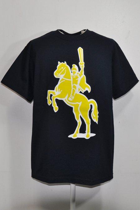HORSE TEE S/S -D.Navy-