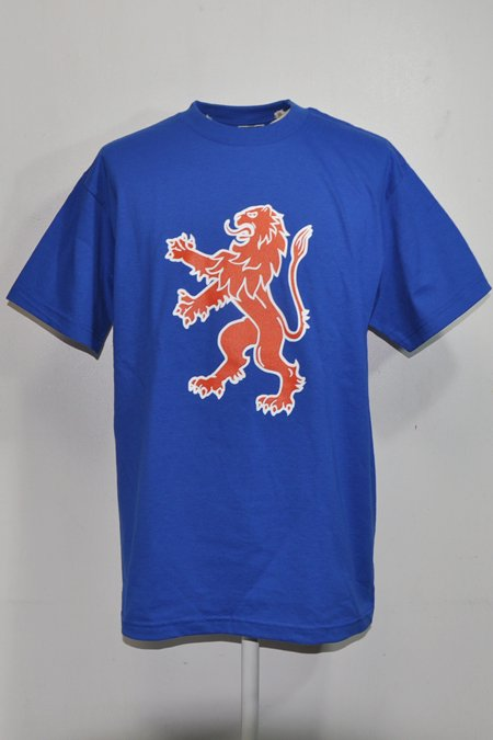 LION TEE S/S -Royal-