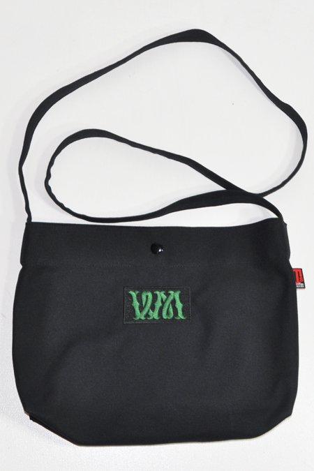 SHOULDER BAG -Black-
