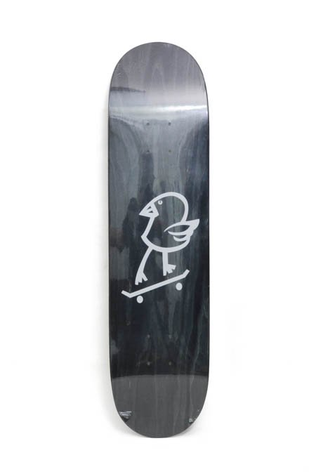 "DISKAH × DORCUS ""killy bird"" SKATEDECK -Grey Wood-"