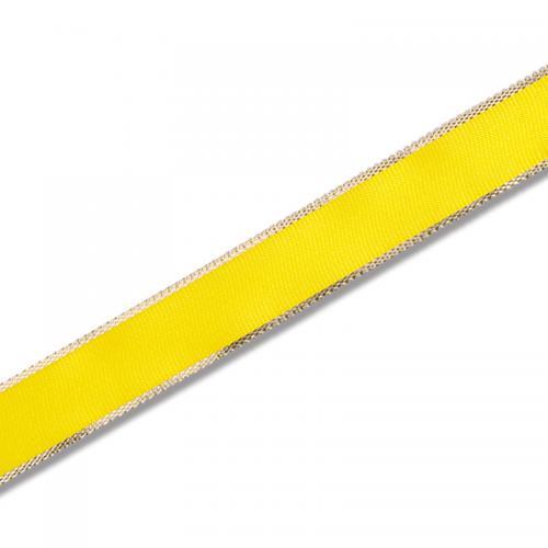 HEIKO カールリボン 18mm幅×30m巻 黄色