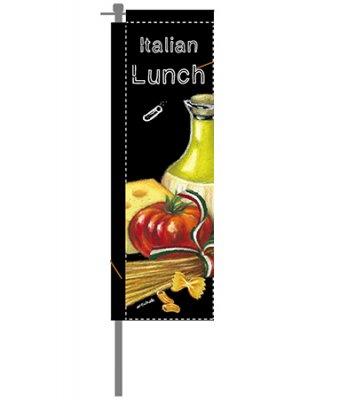 チョークアートのぼり イタリアン