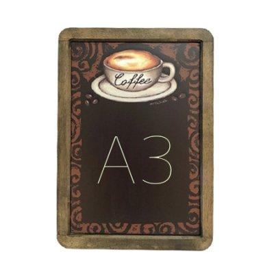 A3サイズ シート黒板 コーヒー